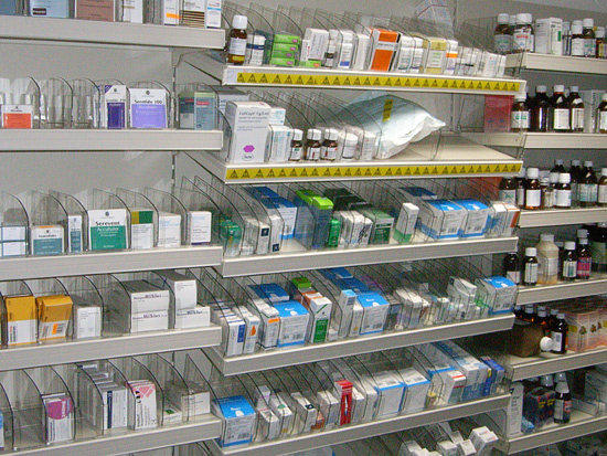 Pharmacy Shelving Dispensary Shelves Healthcare Racking Hospital Storage